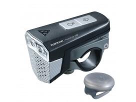 Eclairage avant SoundLite USB + Remote noir TOPEAK