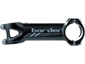 Potence DEDA Mud Border alu noir mat graphique gris 83° de 80 à 130mm