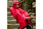 HAMAX Poncho imperméable pour siège enfant - Rouge
