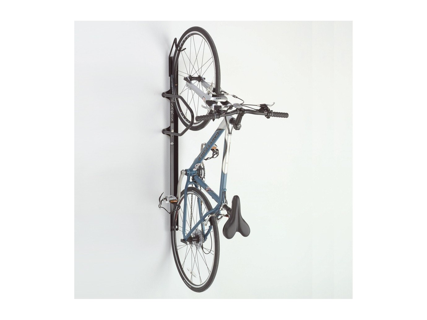 Support mural vertical v rouillable pour v lo locking bike - Support velo appartement ...