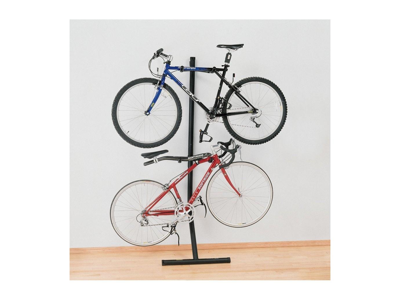 support pour 2 v los bike bunk. Black Bedroom Furniture Sets. Home Design Ideas