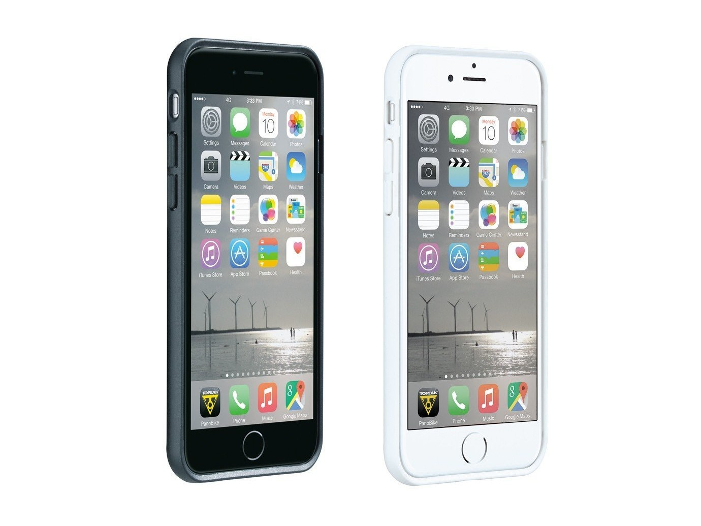 support t l phone ridecase apple iphone 7 6s 6 blanc. Black Bedroom Furniture Sets. Home Design Ideas