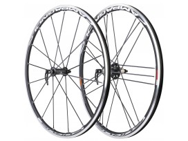 CAMPAGNOLO Paire de roues EURUS 2-WAY FIT BLACK AVANT+ARRIERE -