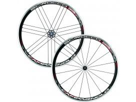 CAMPAGNOLO Paire de roues SCIROCCO 35 black pneus AVANT+ARRIERE