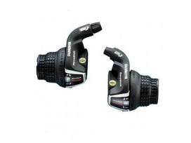 Shimano Manettes Vitesses 3x7v SL-RS35 Tourney Avec Cables