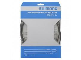 Shimano Kit Cables Gaines Frein VTT Et Route, Noir, Acier