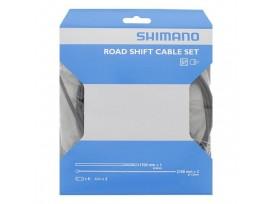 Shimano Kit Cables Gaines Derailleurs Route Noir Acier