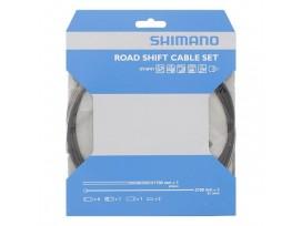 Shimano Kit Cables Gaines Derailleurs Route Noir Inox