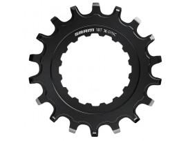 SRAM Pignon X-SYNC pour Bosch motors Straight Steel Black