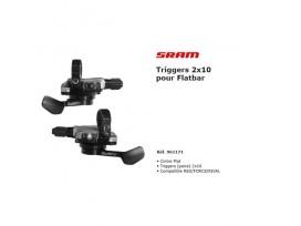 SRAM Trigger S-700 PAIRE 2x10V cintre plat route
