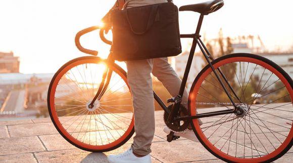 Transporter ses affaires à vélo